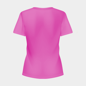 CUSTOM PRINTING WOMEN T-SHIRT BACK