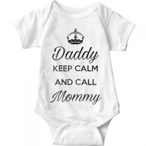 Bodysuit Short Sleeve Call Mammy 2
