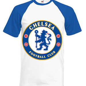 CHELSEA TEAM RETRO FOOTBALL T shirt Classic 8