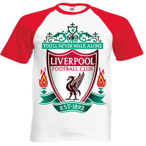 LIVERPOOL RETRO LFC FOOTBALL Tshirt Classic 8