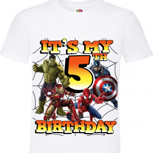 Avengers It's My 5th BIRTHDAY 5