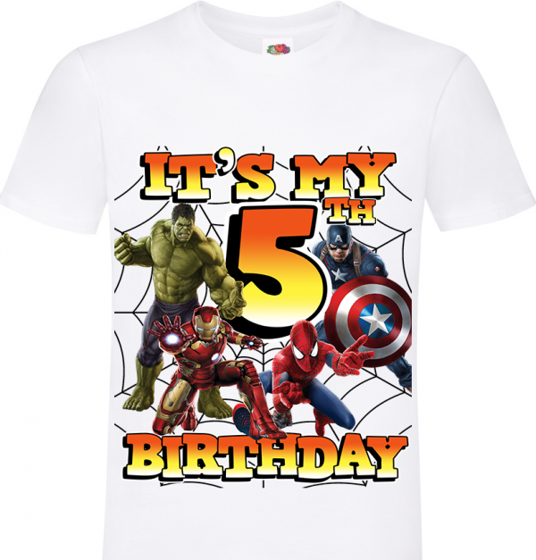Avengers 5th birthday
