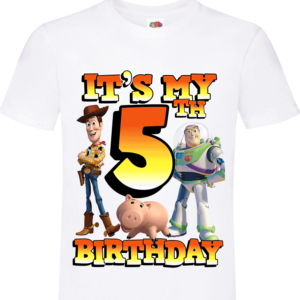 Toy Story It's My 5th BIRTHDAY 8