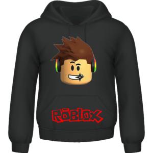 RobloX Kids Hoodie Black 3