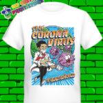 Corona Virus 2020 Covid 19 Black Tshirt 1