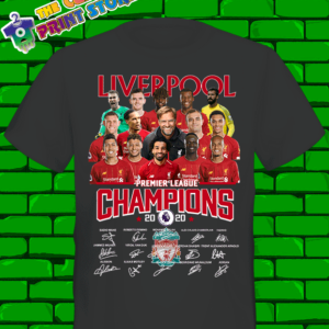 Liverpool Premier League Champions tshirt 2019/20 Unisex 7